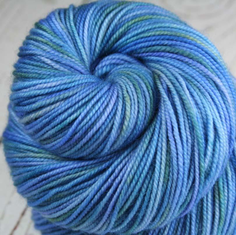 Sport Weight Yarn alohomora: superwash merino-nylon - sport weight yarn - hand-dyed - indie waejiiw