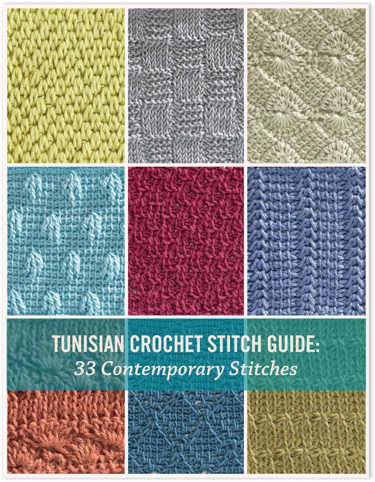 The Unique Style Of Tunisian Crochet Thefashiontamer