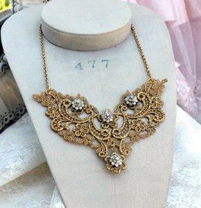 stunning diy crochet necklace lyymfak