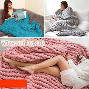 Super Bulky Yarn image is loading new-chunky-wool-blend-yarn-super-bulky-roving- atszjwv