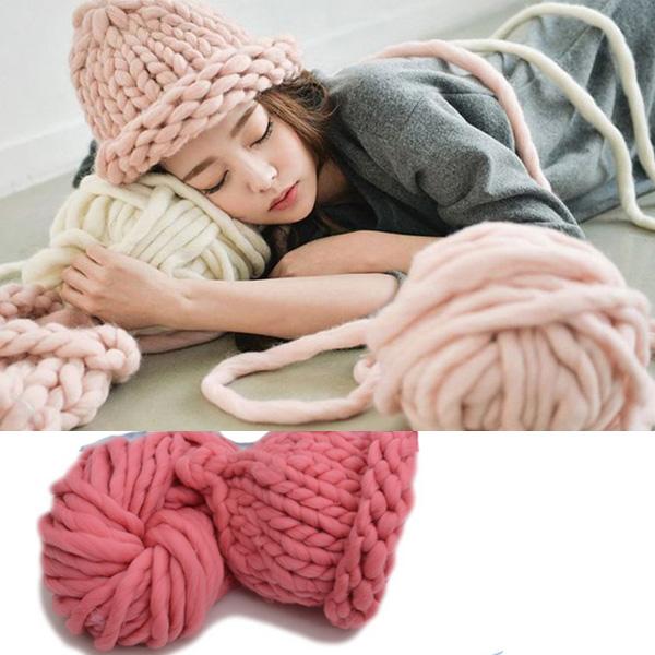 Super Bulky Yarn new arrival fashion giant chunky hand spun extreme yarn super thick yarn sgtluag