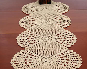 table runner pattern crochet table runner pdf table cloth table decoration  center rgpmguv