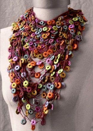 the 25+ best crochet necklace pattern ideas on pinterest | crochet necklace, kifczqs