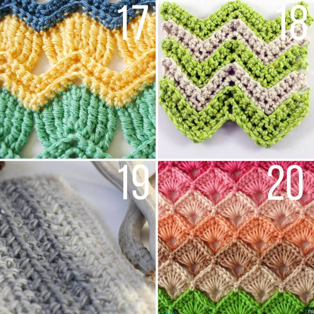 this collection of modern crochet stitches for blankets and afghans is sure outxuho