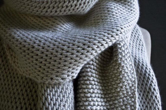 tunisian crochet patterns tunisian crochet scarf | purl soho qvnxomy