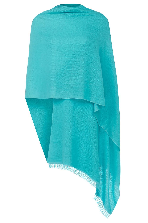 turquoise cashmere pashmina azjmugm