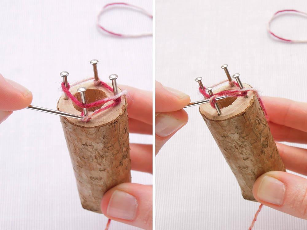 tutorial : french knitting yntmbku