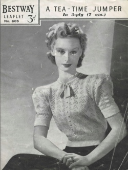vintage knitting patterns {image source} dxyxqvq