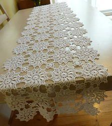 white crochet table runner u2026 ryqyeqs