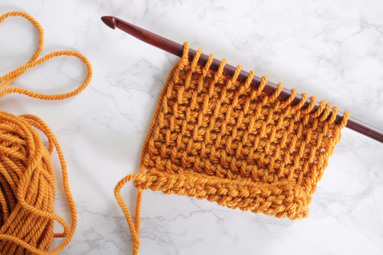 The Unique Style of Tunisian Crochet
