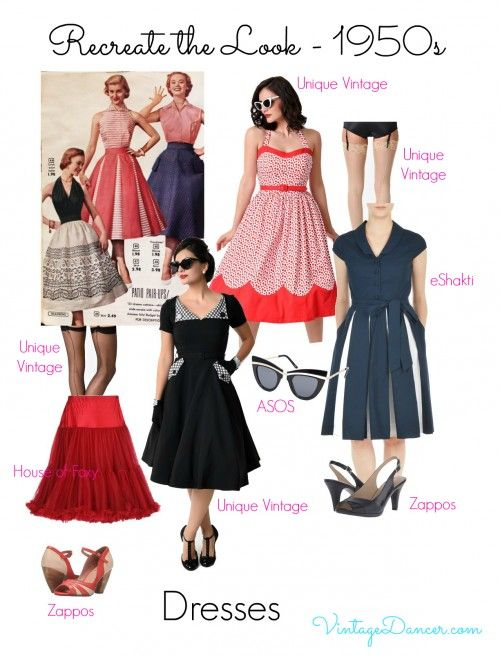 1950s Inspired Fashion: Recreate the Look | 1950s Style Clothing