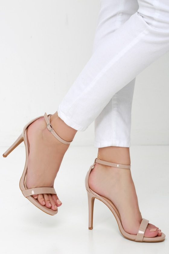 Stylish ankle strap heels for   parties