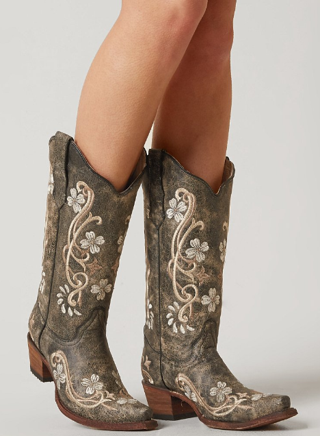 Corral Embroidered Cowboy Boot - Women's Shoes | Buckle | Western