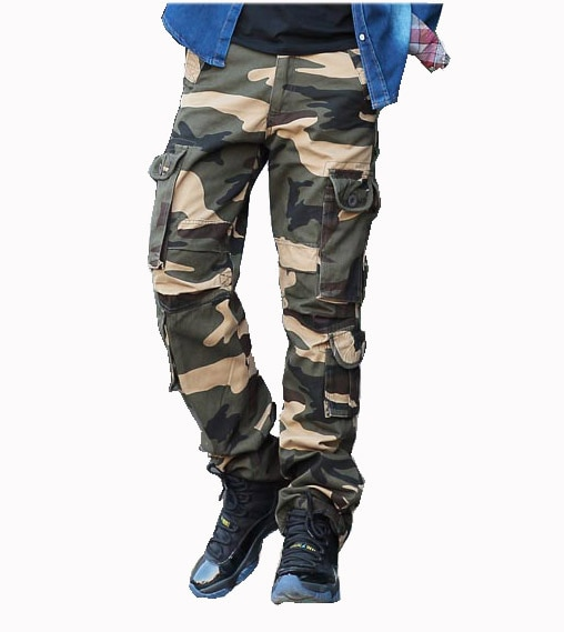 Men's Military Army Cargo Pants for Man Plus Size Mens Cargo Pants