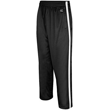 Amazon.com: Colosseum Mens Tearaway Athletic Pants (Black/White