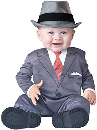 Amazon.com: InCharacter Baby Businessman Costume: Clothing