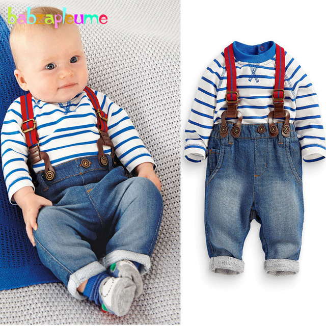 2PCS/0 18Months/Spring Autumn Newborn Outfit Clothing Sets Casual