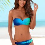 Choose trendy bandeau bikini   designs to make these summers hotter