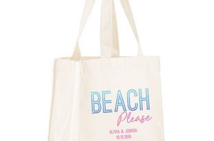Tote Bags | Personalized Beach Totes - The Knot Shop