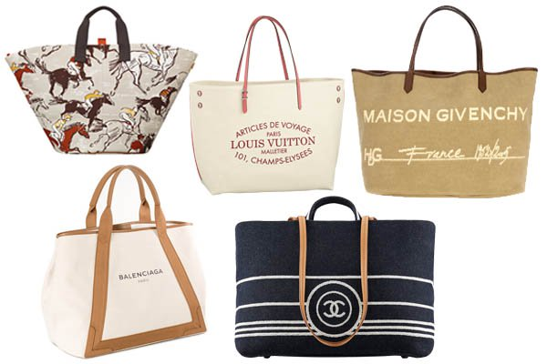 Best Beach Totes for Summer 2014 from Chanel, Louis Vuitton and more
