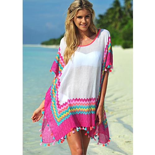 Multicolor Plain Beachwear Kaftan, Rs 375 /piece, Myon Fashion