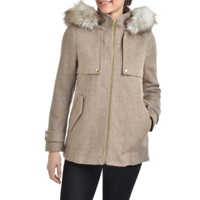 Peacoats Beige Coats & Jackets for Women - JCPenney