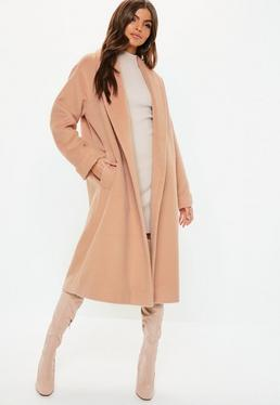 Nude Coats | Nude & Beige Jackets - Missguided