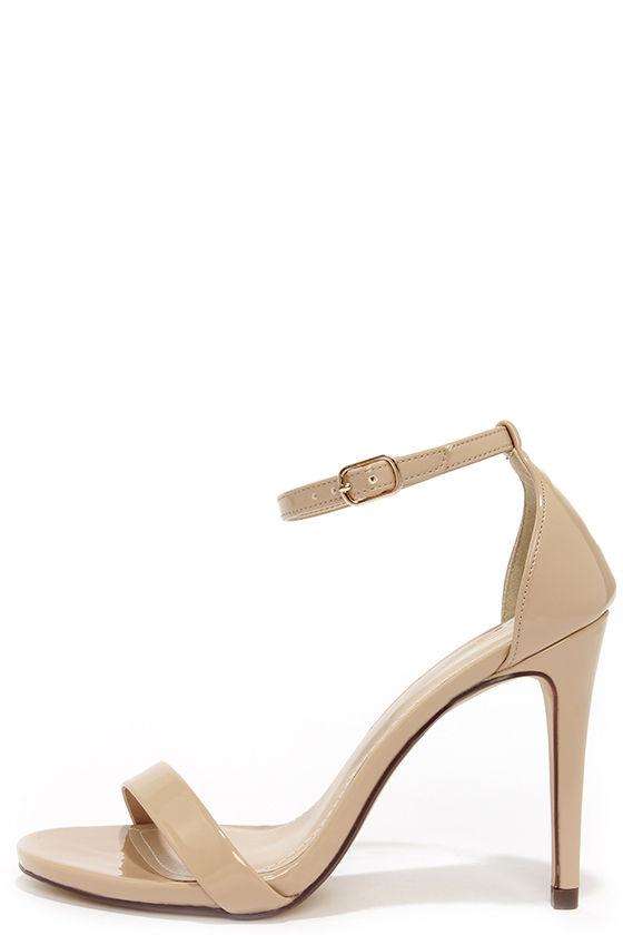 Beige heels: Must have women   shoes