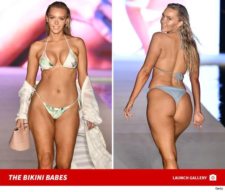 Rob Gronkowski's GF Camille Kostek Rocks Tiny Bikini In SI Fashion