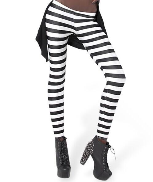 Black And White Striped Leggings u2013 Epic Leggings