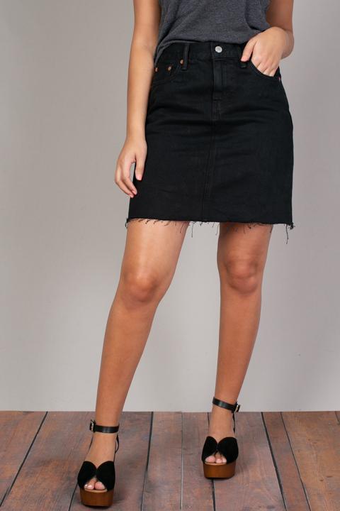 Black Denim Skirt | Skirt | Levis
