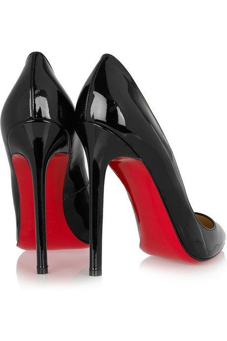 Why every woman must own black   heels with red soles