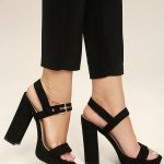 Black Platform heels for your   classy looks