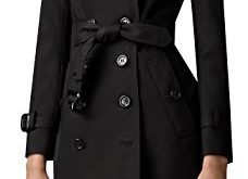 Amazon.com: EORISH Women British Double Breasted Slim Long Trench