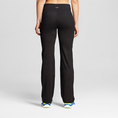 Women's Everyday Mid-Rise Curvy Fit Pants - C9 Champion® Black : Target