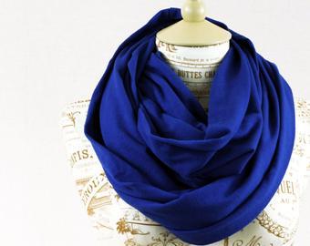 Blue scarf | Etsy
