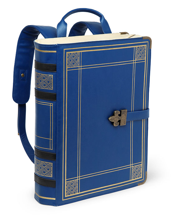 Olde Book Backpack | ThinkGeek