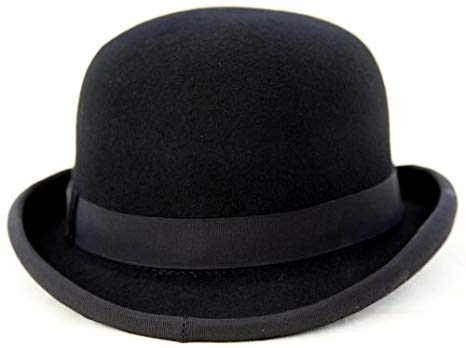 Thorness 100% Felt Bowler Hat - Size 56cm: Amazon.co.uk: Clothing