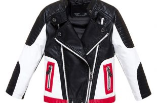 Boys Jackets Faux Leather Jackets for Boys and Girls 2 3 4 6 8 10 12