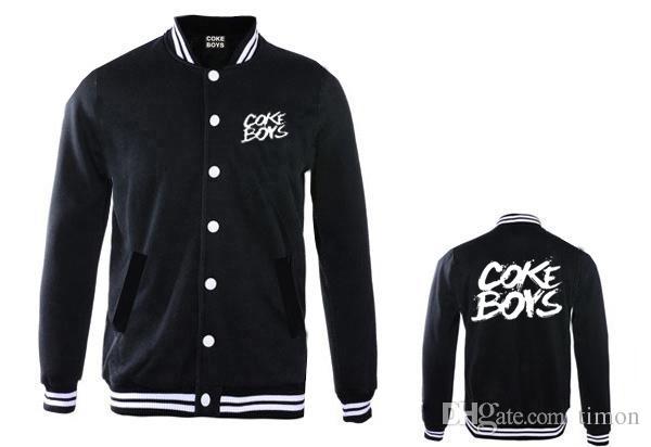 New Coke Boys Jackets Hip Hop Clothing For Sale Thick Baseball Coats