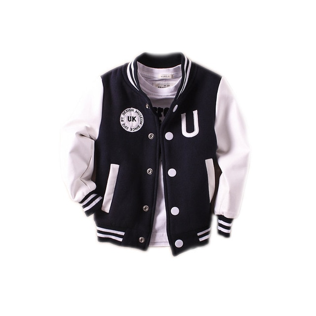 New Boys outerwear 2018 baby boy jacket spring autumn long sleeve pu