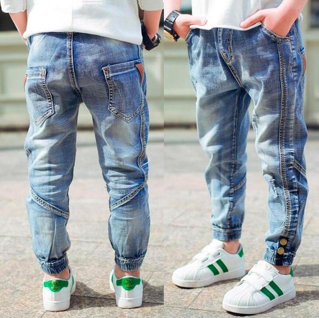 Brand Jeans Boys Jeans Kids Trousers Fashion Children Boys Jeans