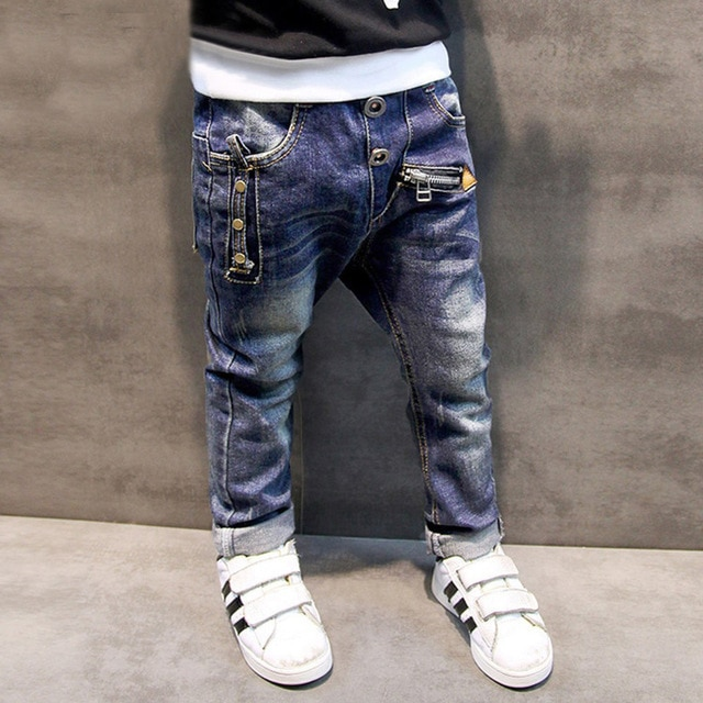 Boys Jeans Pants 2018 Brand Fashion Children Boys Jeans For Spring