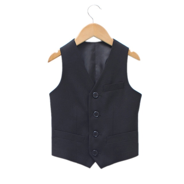 Baby Boy Formal Dress 2017 New Boys Vest children boys Vest leisure