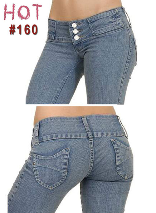 Brazilian Style Jeans - #160 Brazilian Style Jeans -160