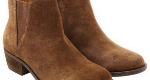 Kensie Women's Garry Bootie Short Ankle BOOTS Suede Brown - Pick