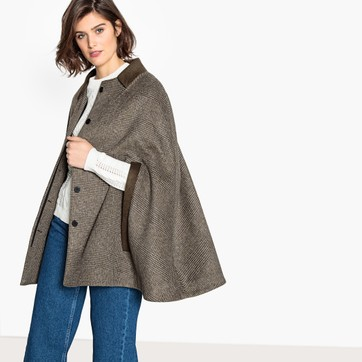 Women's Hooded Cape Coats & Shawls | La Redoute