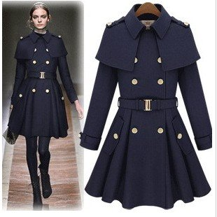 New special star Cloak Cape coat jacket with skirt type, camel or