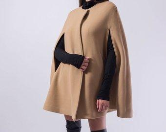 Cape coat   Etsy