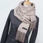 Add a new style to your   fashion collection with Cashmere scarf